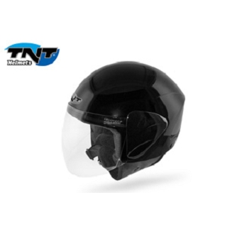 CASQUE JET+ECRAN POLY APOLLO NOIR BRILLA