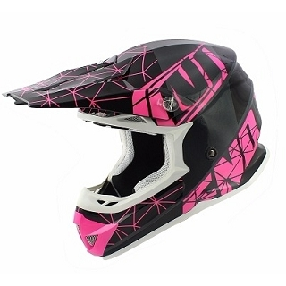 CASQUE CROSS NOEND ORIGAMI GLOSSY PINK S