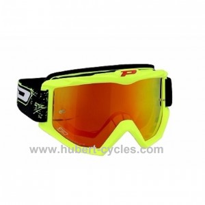 MASQUE CROSS MOTO PROGRIP 3204 JAUNE FLU