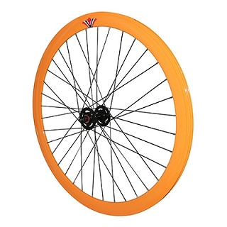 ROUE AVANT FIXIE 43MM ORANGE