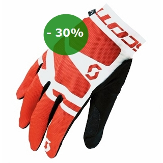 GANTS SCOTT ENDURANCE LF WHITE RED