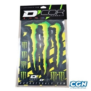 AUTOCOLLANT MONSTER ENERGY 50X28 KIT