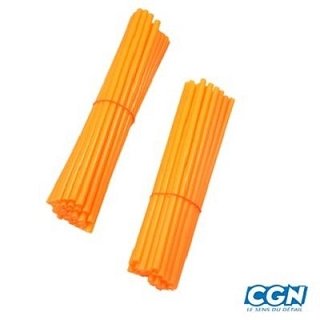COUVRE RAYON ORANGE 38X190MM 38X210MM