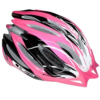 CASQUE VELO GES DELTA ROSE DOUBLE IN-MOL