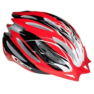 CASQUE VELO GES DELTA ROUGE DOUBLE IN-MO