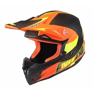CASQUE CROSS NOEND DEFCON BY OCD ORANGE