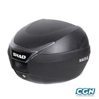 TOP CASE SHAD 34L NOIR CAPACITE 1 CASQUE