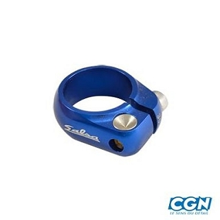 COLLIER SELLE ROUTE FIXIE 30.6 CNC BLEU
