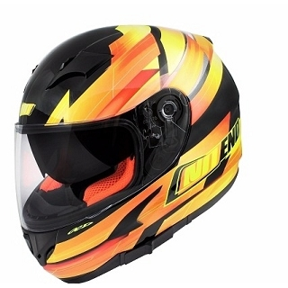 CASQUE INTEGRAL NOEND RACE BY OCD YELLOW