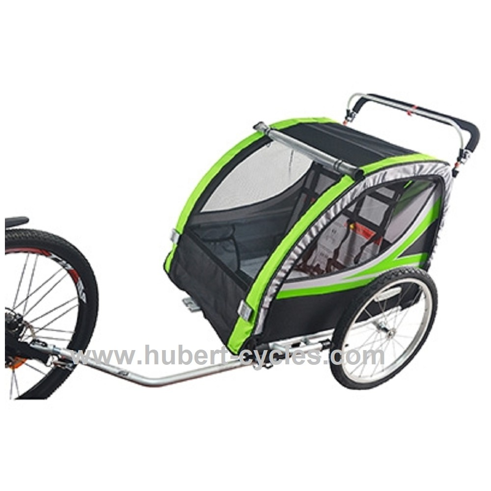 achat remorque velo enfant couvert p2r hubert cycles. Black Bedroom Furniture Sets. Home Design Ideas