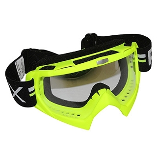 MASQUE CROSS ADX MX JAUNE FLUO MAT