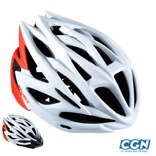 CASQUE ROUTE/VTT OPTIMIZ O-320 BLANC/ROU