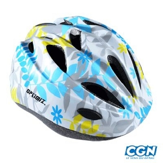 CASQUE ENFANT BABY OPTIMIZ O-100 FLOWER