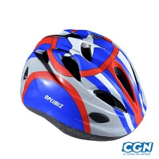 CASQUE ENFANT OPTIMIZ O-100 CAPTAIN BLEU