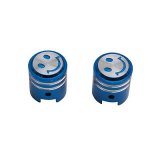 BOUCHON DE VALVE REPLAY PISTON BLEU (X2)