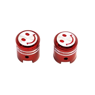 BOUCHON DE VALVE REPLAY PISTON ROUGE (X2