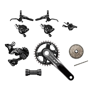 GROUPE SHIMANO XT M8000 11V 175MM 11-46