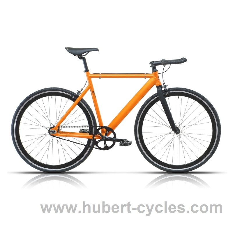 Achat velo fixie noname pro orange hubert cycles for Housse de velo intersport