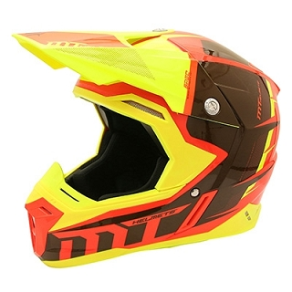 CASQUE CROSS MT SYNCHRONY SPEC ORANGE/JA