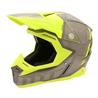 CASQUE CROSS MT SYNCHRONY SPEC TITANE/JA