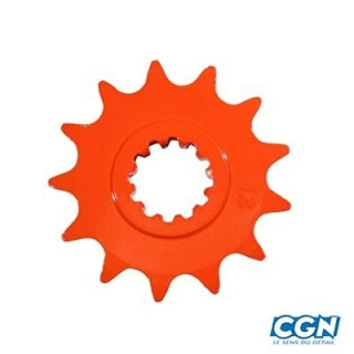 PIGNON MOTO AM6 420 12 DTS ORANGE