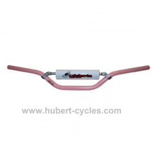 GUIDON + MOUSSE V BULL ALU 80CC ROSE