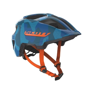 CASQUE SCOTT SPUNTO JUNIOR BLUE ORANGE