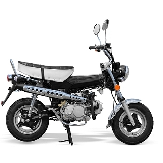 MINI MOTO CITY 50CC 4 TEMPS NOIR EURO4