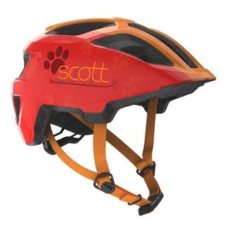CASQUE SCOTT SPUNTO KID LIGHT RED ORANGE