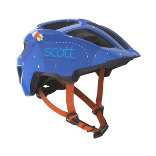 CASQUE SCOTT SPUNTO KID BLUE ORANGE