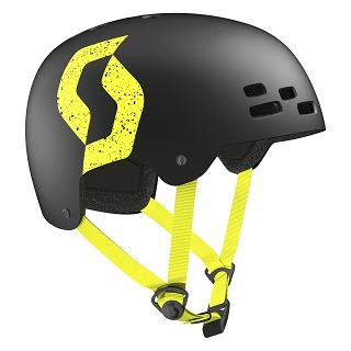 CASQUE SCOTT JIBE BLACK YELLOW TAILLE M