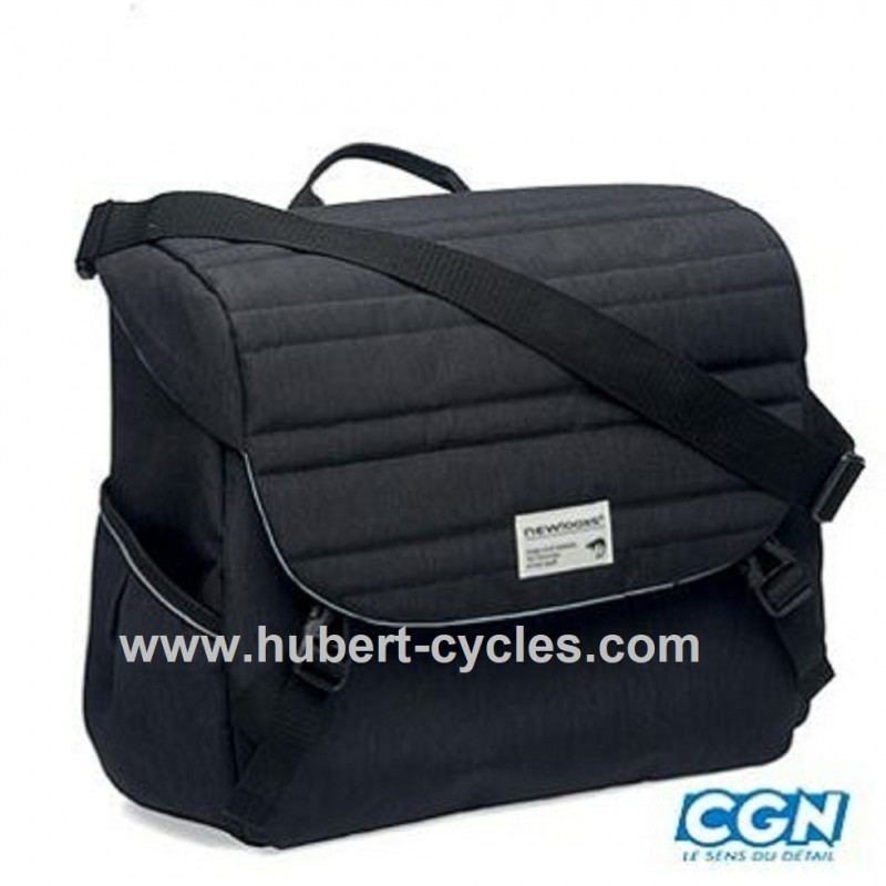 SACOCHE PORTE BAGAGE QUILTED NOIR 18.5L