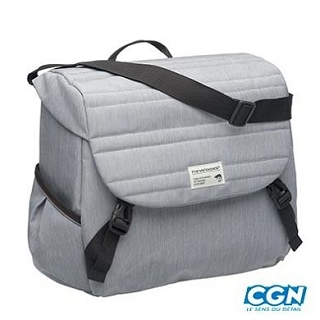SACOCHE PORTE BAGAGE QUILTED GRIS 18.5L