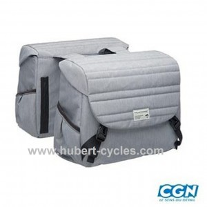 SACOCHE PORTE BAGAGE QUILTED GRIS 38L