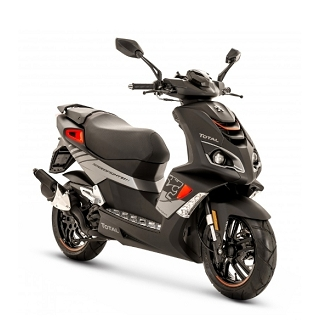 FIGHT4 50CC SCOOTER PEUGEOT MAD BLACK