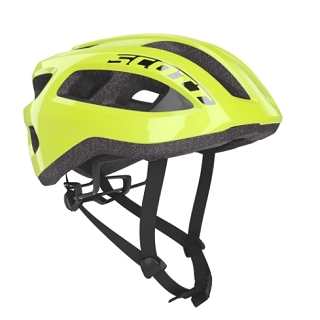 CASQUE SCOTT SUPRA ROAD YEL FLUO T U