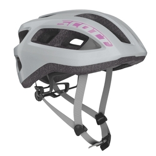 CASQUE SCOTT SUPRA ROAD VOGUE SILVER TU