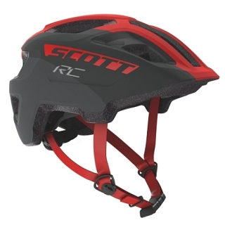 CASQUE SCOTT SPUNTO JUNIOR GREY RED TU