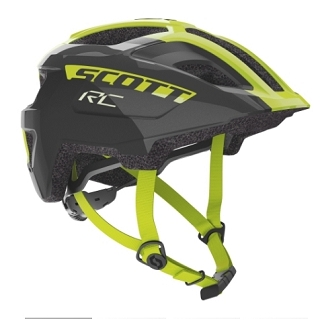 CASQUE SCOTT SPUNTO JUNIOR BLACK YEL TU