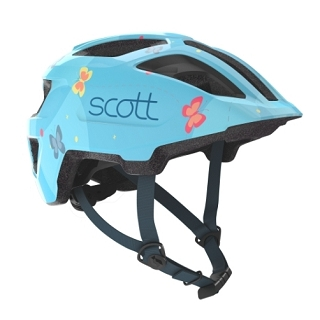 CASQUE ENFANT SCOTT SPUNTO LIGHT BLUE TU
