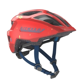 CASQUE ENFANT SCOTT SPUNTO FLERY RED TU