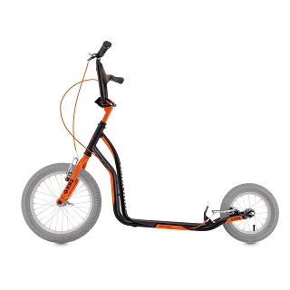 TROTTINETTE KB2 NOIR-ORANGE