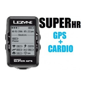 NEW GPS LEZYNE SUPER Y10 + CARDIO
