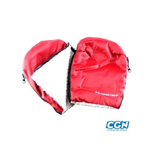 MANCHONS HIVER HAND MUFF ROUGE