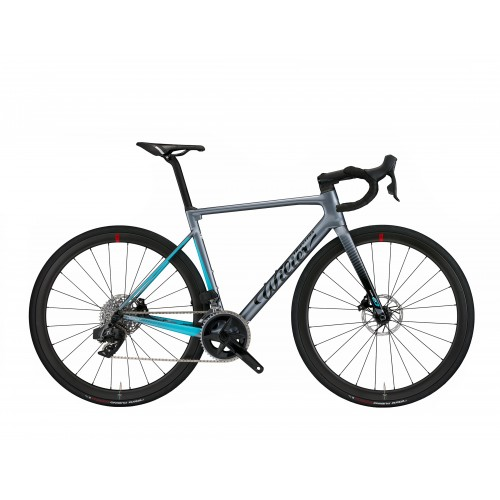 WILIER 0 SL DISC ULT DI2 NDR38 GREY BLUE TAILLE L