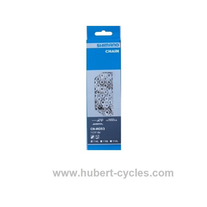 CHAINE SHIMANO HG 93 9V 114M DEORE XT
