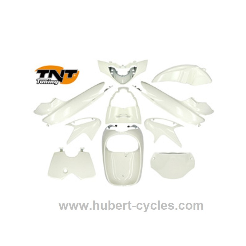 KIT 10 PIECES ADAPT SH125/150 2006 BLANC